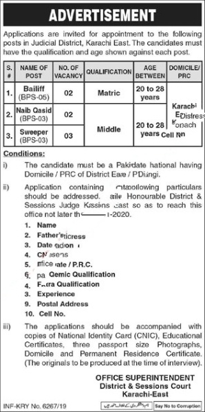 District & Session Court Karachi